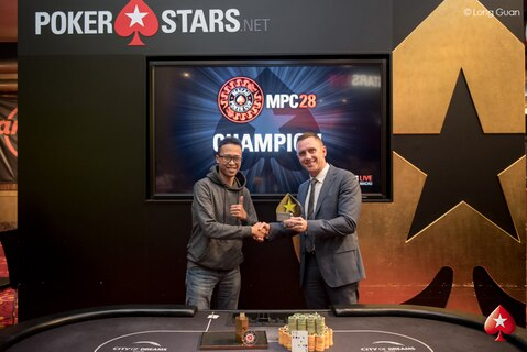 Sandhy Rafael Sitepu awarded Platinum Pass after claiming MPC28 $HK25k NLHE crown